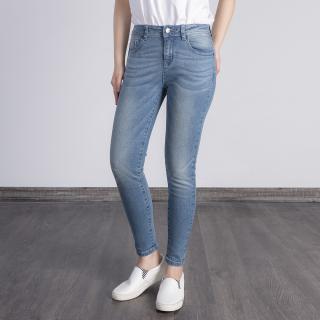 Quần Jean O.jeans - Skinny Lưng Cao Nữ - 5QJD20432BW thumbnail
