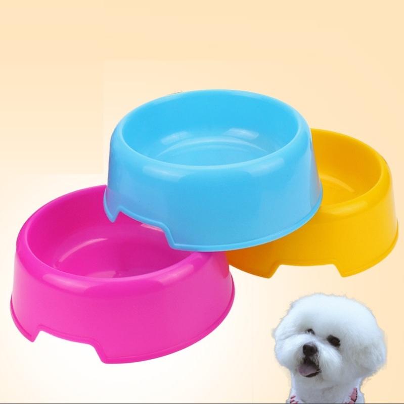 HCM- Bát ăn chó mèo dưới 5kg - Bát tròn đơn Chất liệu nhựa / chén ăn chó / bát ăn mèo / bát ăn thú cưng / bát nhựa đơn cho chó / bát cho mèo và chó / bát thú cưng