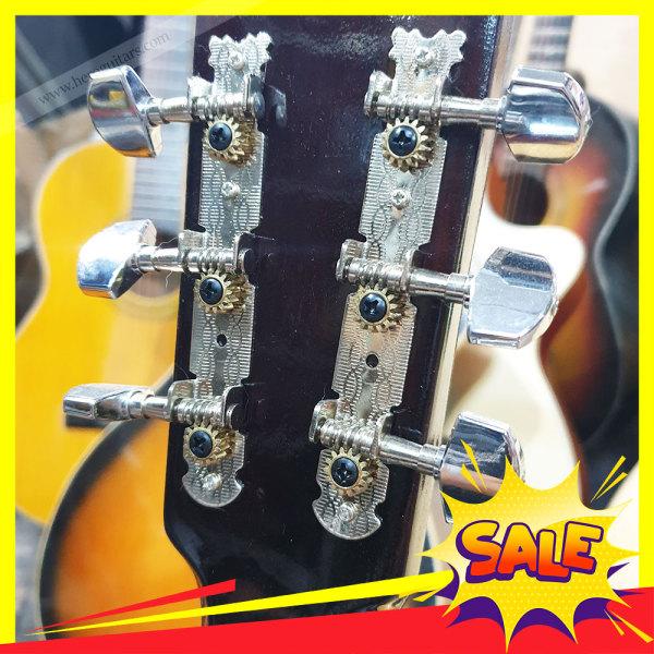 Bộ Khóa tay vặn cho guitar - Khóa si inox guitar Acoustic