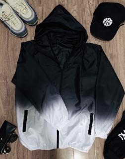 Áo Khoác dù loang trắng đen (hình thật), sản phẩm unisex phù hợp cho cả nam và nữ, chất liệu mềm mại, thoáng mát thumbnail