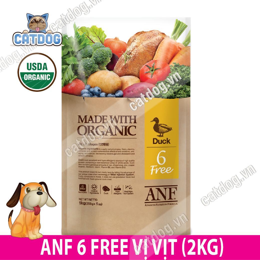 Hạt Anf 6 Free Organic Vị Vịt 6kg By Catdog Pet Store.