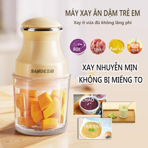 Máy xay mini máy xay ăn dặm SANDE máy xay bột thực phẩm ăn dặm trẻ em xay thịt xay rau củ quả  Redepshop