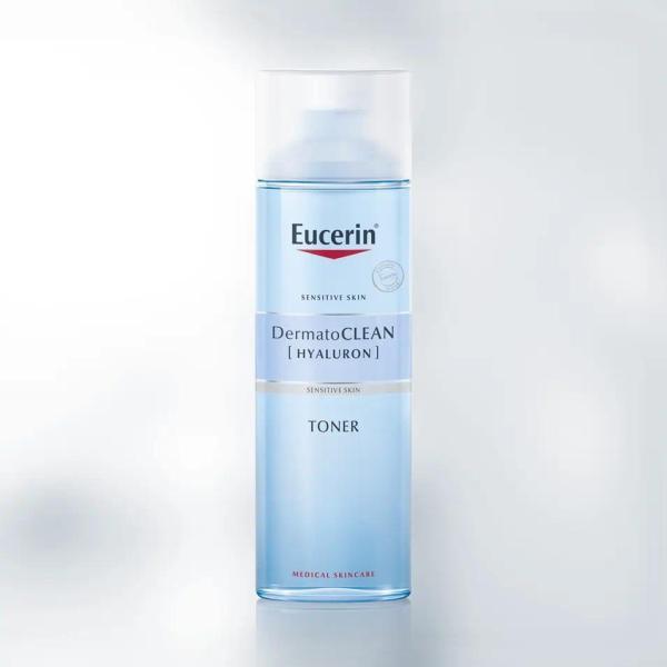 Eucerin Nước hoa hồng cho da nhạy cảm Dermatoclean Clarifying Toner 200ml
