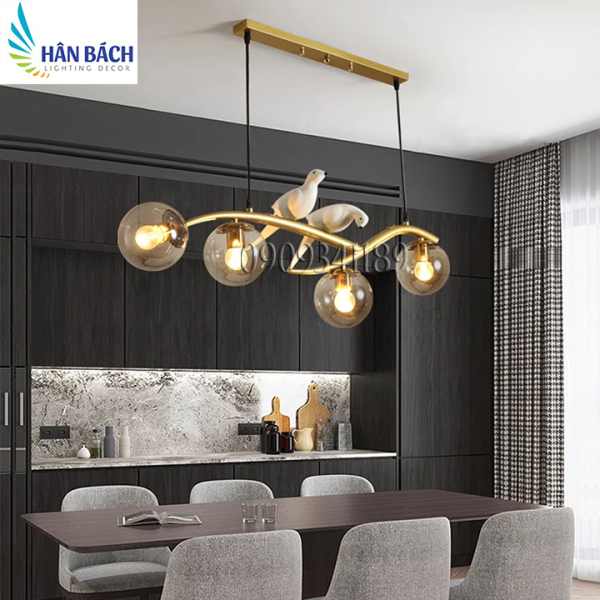 Đèn chùm,Đèn thả trang trí bàn ăn,đèn thả trần hiện đại,đèn thả salon,cafe