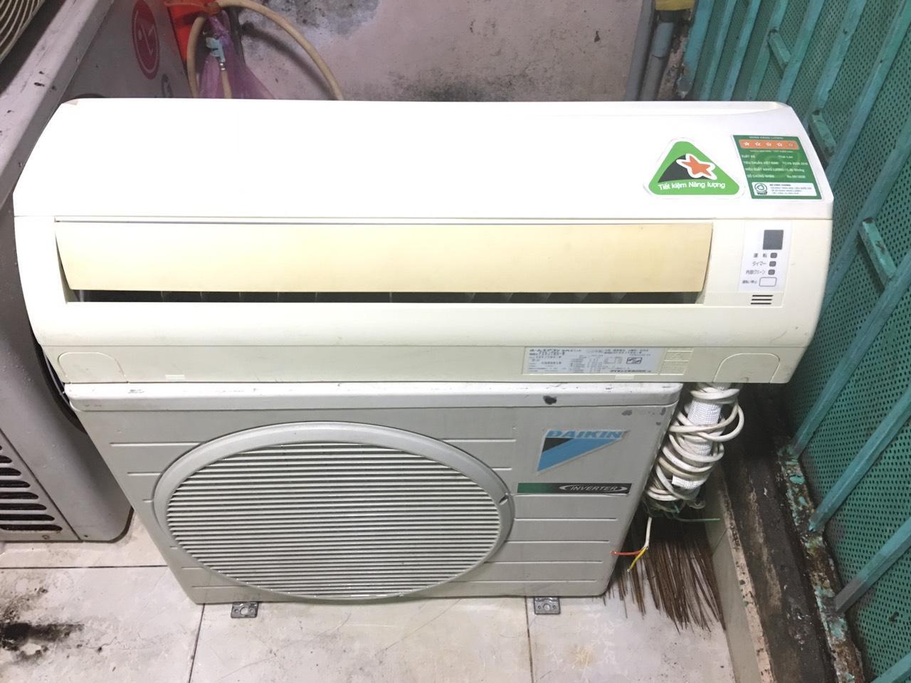 Bảng giá Máy lạnh cũ giá rẻ tiết kiệm điện Daikin 1HP inverter nội địa - bao lắp đặt