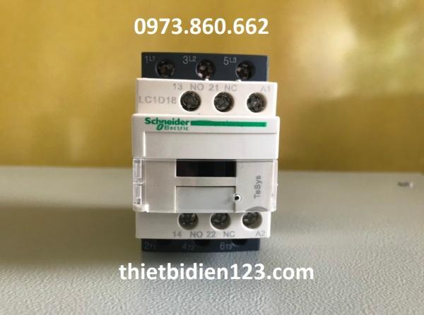 Công tắc tơ - Khởi động từ Schneider LC1D..B7 cuộn hút 24V
