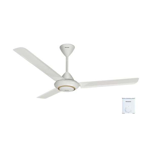 Quạt trần 3 cánh ti 22.8cm màu trắng - PANASONIC F-60MZ2-MS