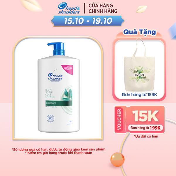 Dầu Gội Head & Shoulder Da Đầu Ngứa Chai 1800ML giá rẻ