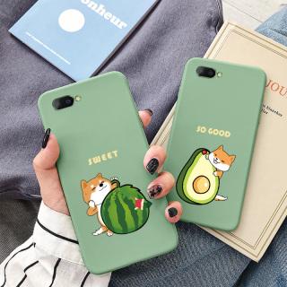 Ốp lưng iphone 7Plus- Ốp lưng hình chú cún ôm hoa quả đáng yêu dành cho iphone 6 6S 6Plus 6SPlus 7 7Plus 8 8Plus X XS XR XSmax 11 11Pro 11promax - ShinCase - a316 thumbnail