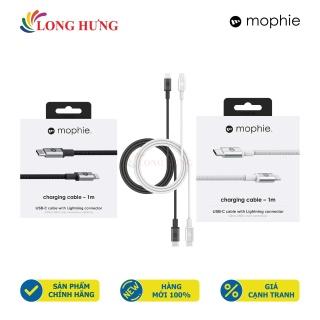 Cáp USB Type-C to Lightning Mophie 1m 409903202 409903201 - Hàng chính hãng - Cổng Lightning và Type-C tiện dụng Chiều dài 1m Dòng điện ổn định Truyền tải điện tốt thumbnail