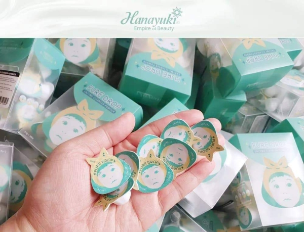 [Chính hãng Hanayuki] VIÊN BỘT RỬA MẶT HANAYUKI (1 Viên)-Pure Drop Enzyme Cleanser Powder