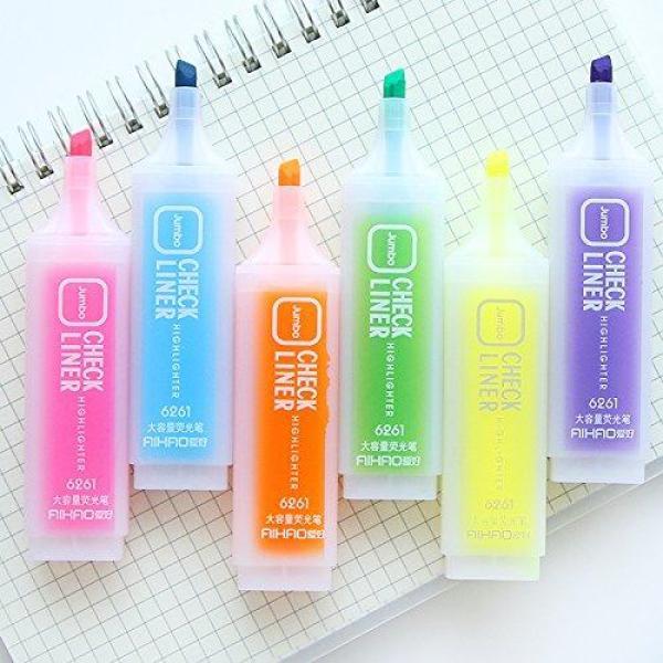 Mua Bút màu dạ quang, bút nhớ dòng  JUMBO HIGHLIGHTER - 6 màu tùy chọn