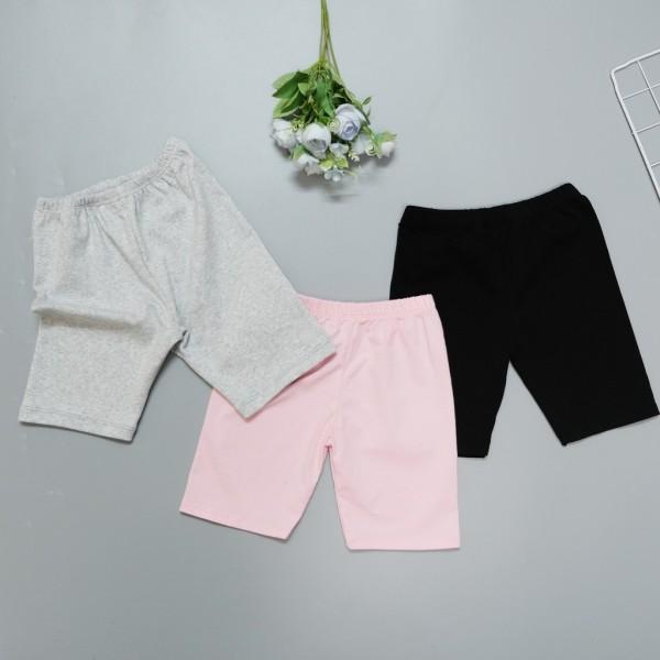 Giá bán Quần legging lửng bé gái, chất liệu cotton cực thoáng mát mặc mùa hè cho bé từ 1-6 tuổi, Mi-Ka Shop