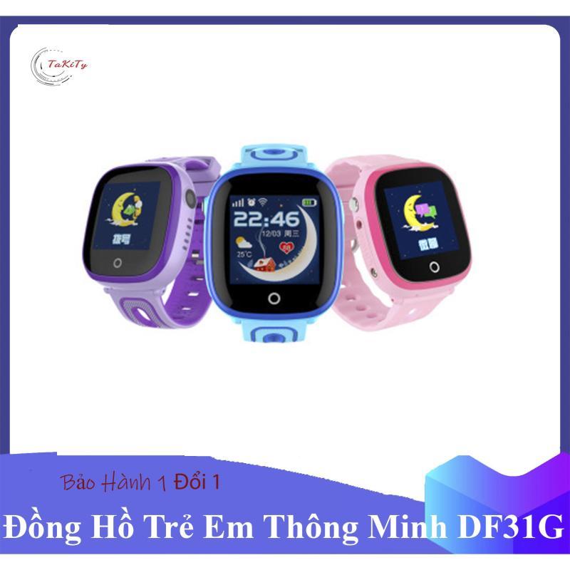 Nơi bán [HOT TREND 2019] Đồng hồ định vị trẻ em DF31G Chống nước tuyệt đối, Có Camera, nghe gọi 2 chiều, Đồng hồ thông minh trẻ em - Takity Shop