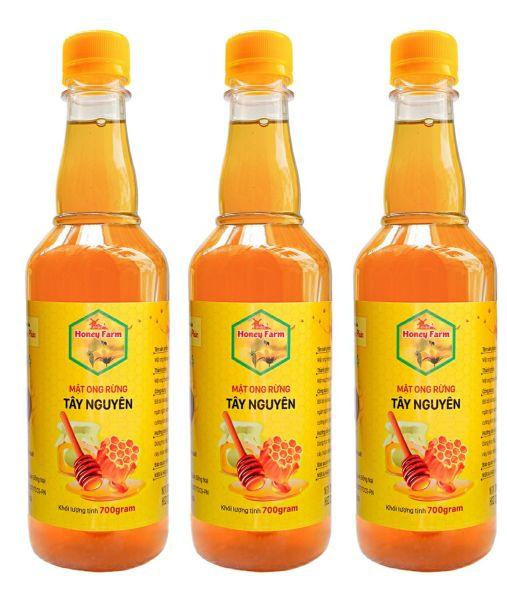 Combo 3 chai Mật Ong Hoa Cà Phê Vạn Phúc honey (3 chai x 700g)