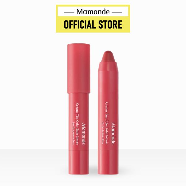 Son bút chì Mamonde chính hãng Hàn Quốc Creamy Tint Color Balm Intense 2.5G giá rẻ