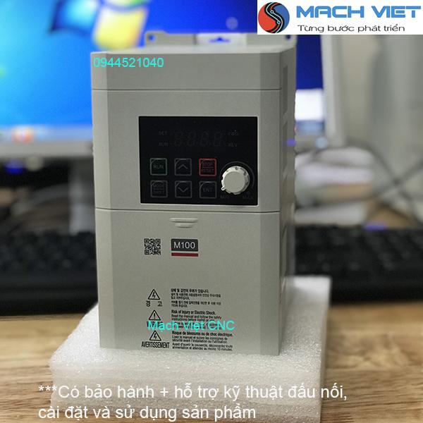 Biến tần LS Hàn Quốc LSLV-M100 1 pha ra 3 pha 220V 0.4kW 0.75kW, 1.5kW, 2.2kW