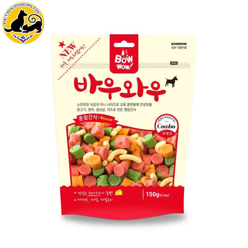 Snack hỗn hợp cho chó Bowwow 150g