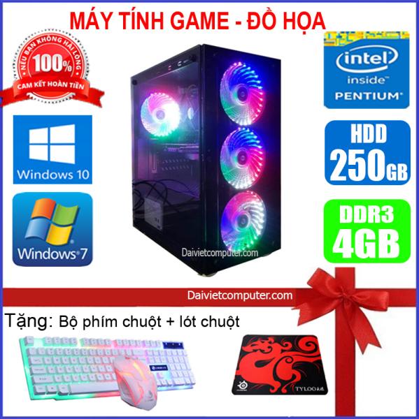 Bảng giá [Trả góp 0%]Máy tính PC Game LED CPU Dual Core E7/8xxx / i5-2330 / Ram 4GB-8GB / HDD 250GB - SSD 120GB / VGA 1GB - 2GB chơi PUBG mobile PUBG lite LOL CF đột kích Fifa Cs Go AOE ... + [QÙA TẶNG: Phím chuột Game bàn di chuột] GAI52 - LDV Phong Vũ