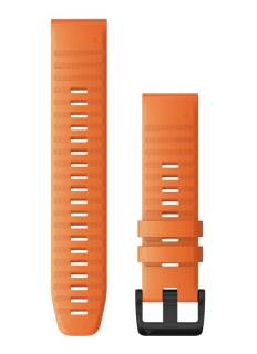 Phụ kiện GARMIN Fenix 6x 26mm QuickFit Cam đất Dây silicon 010-12864-11