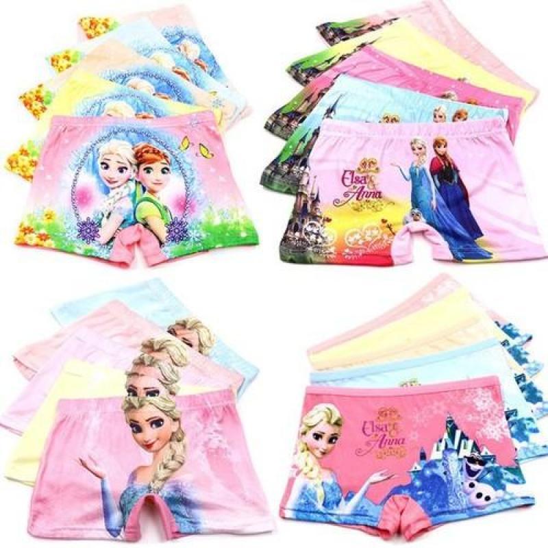 Nơi bán Combo 10 quần chip đùi 3D in hình công chúa Elsa (xem bảng size phía dưới)