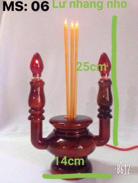Bảng giá đèn thờ gỗ ( lư nhang)