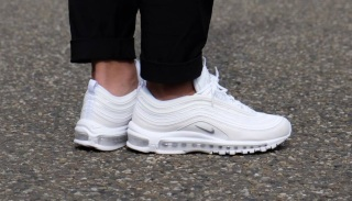 Giày Nike Air Max 97 All White chính hãng xách tay thumbnail