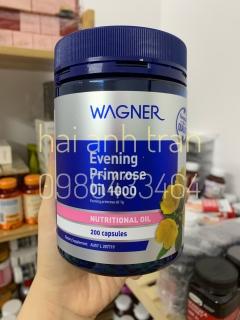 Viên tinh dầu hoa anh thảo Wagner Evening Primrose Oil 1000mg thumbnail