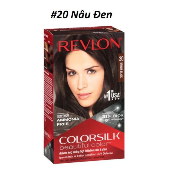 THUỐC NHUỘM TÓC REVLON 3D COLOR SILK 130ml