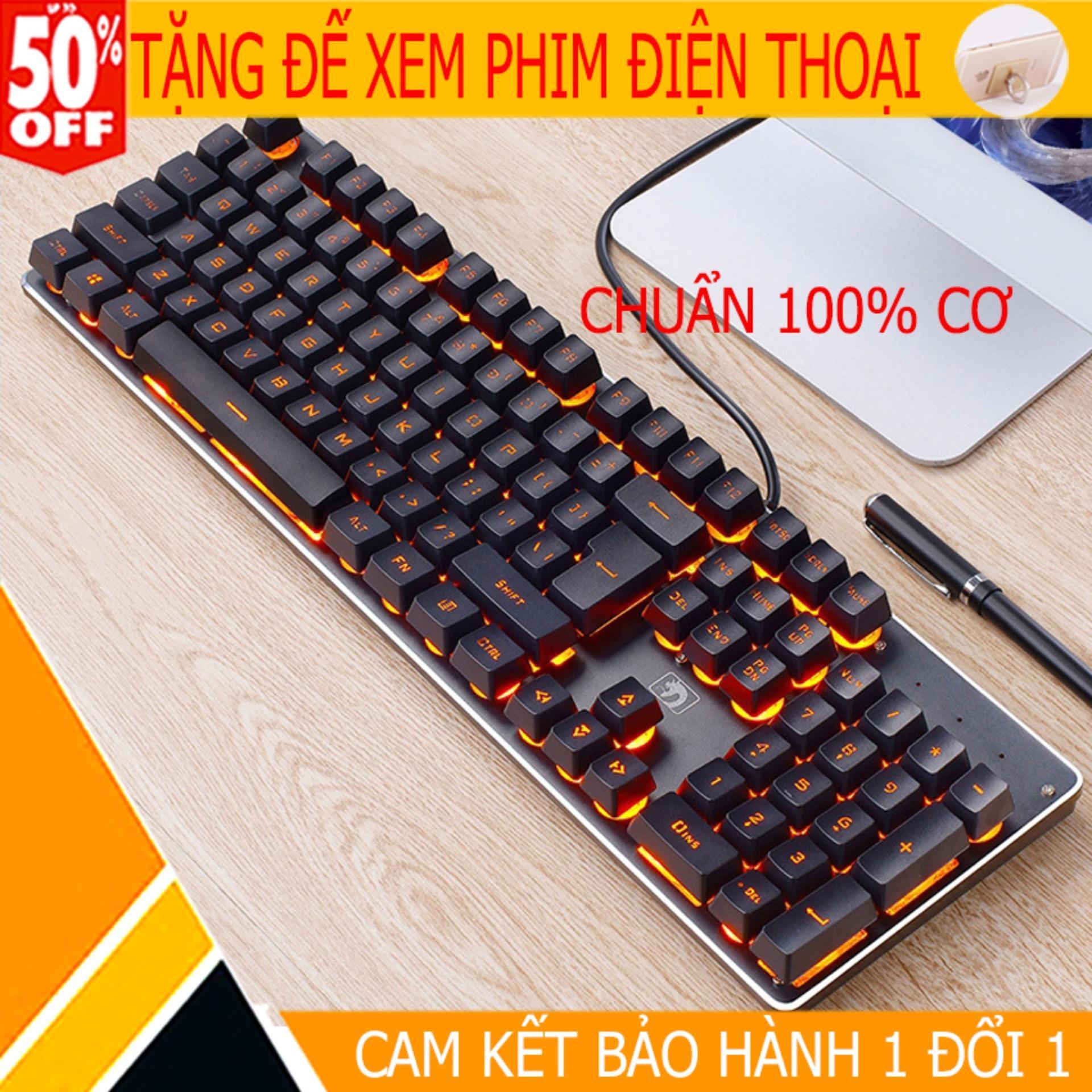 [CÓ VIDEO TEST] Bàn phím cơ Gaming K100 LED RGB kết nối USB 2.0, nhấn 26 phím đồng thời, phím cơ học Cherry MX, tùy chỉnh chiếu sáng theo phím