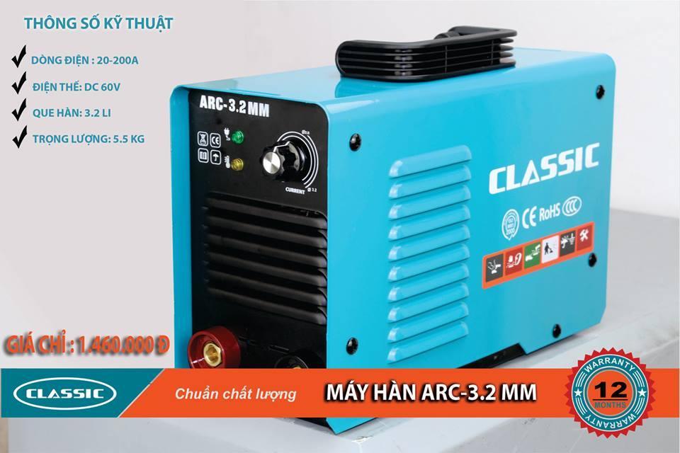 Máy hàn điện tử Classic INVERTER ARC 3.2mm