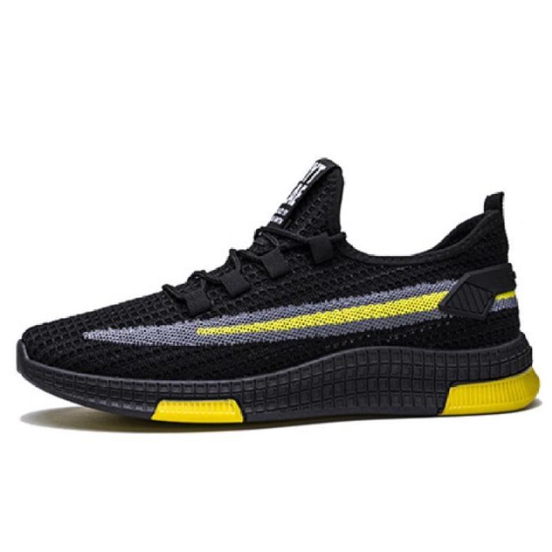 Giày thể thao nam tăng 3cm chiều cao cực kì ngầu - đế tổng hợp êm chân kiểu dáng sang trọng lịch sự (tặng kèm tất vớ)