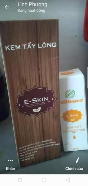 Bộ đôi E-SKIN triệt lông tại nhà,! không đau,nhanh,gọn,lẹ,sách sẽ, tiết kiệm tốt nhất