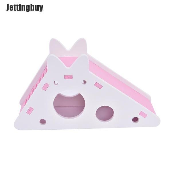 Nhà lâu đài có thang Jettingbuy hai kích thước A/B dành cho chuột hamster - INTL