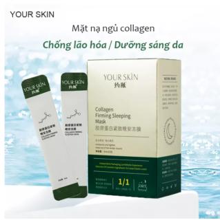 [1 gói] Mặt nạ ngủ collagen YOUR SKIN trắng da chống lão hóa mặt nạ ngủ dưỡng ẩm mặt nạ ngủ dạng gel mặt nạ nội địa Trung thumbnail