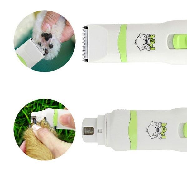 (Bảo hành 6 tháng) - CP5200 - Tông đơ Codos CP 5200 ( 2 in 1 ) (hanpet 4711477) cắt lông và mài móng chó mèo tỉa lông chân chó và làm móng cho chó mèo