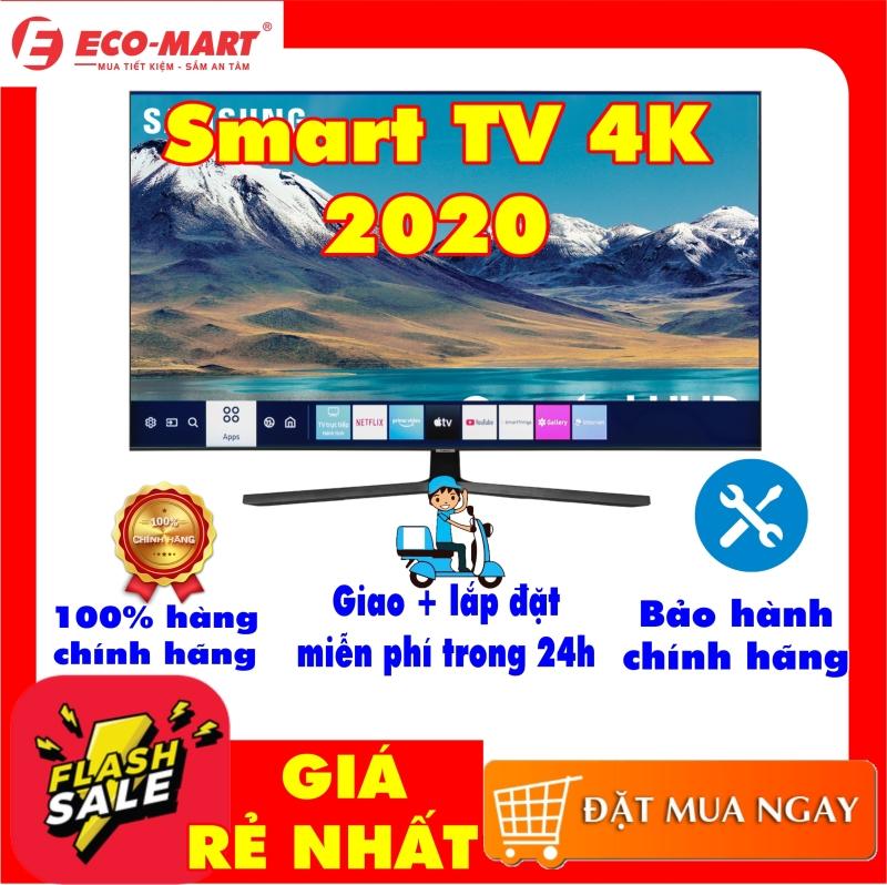 Bảng giá Smart Tivi Samsung 4K 55 inch UA55TU8500 Mới 2020 Tìm kiếm giọng nói (Chỉ hỗ trợ tiếng Việt trong Youtube) Bluetooth:Có (Loa, chuột, bàn phím) Kết nối Internet:Cổng LAN, Wifi Cổng AV:Có cổng Composite và cổng Component