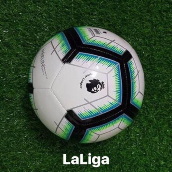 Quả bóng đá ngoại hạng anh LALIGA (Chất Lượng Cao) Tặng Lưới Đựng Bóng Và Kim Bơm Bóng