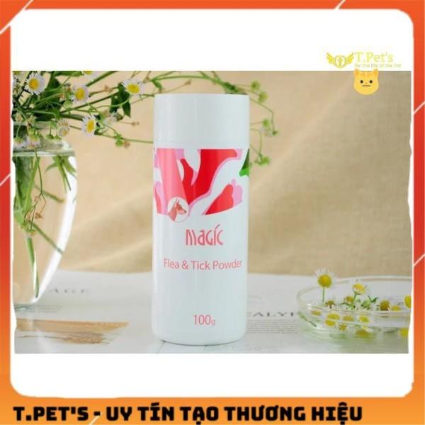 Phấn Tắm Khô Magic - Trị Ve Rận- 100gr