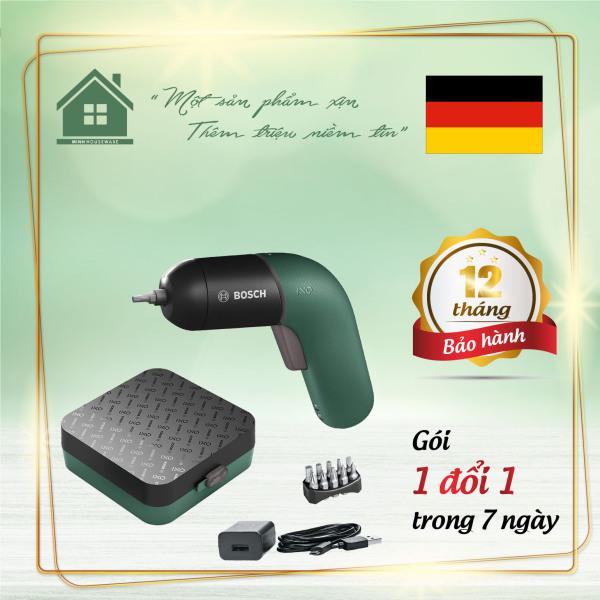 Máy Bắt Vít Cầm Tay Bosch IXO VI bổ sung các chức năng bất thường cho một dụng cụ điện tầm thường - Minhhouseware hàng nhập khẩu 100% từ Đức