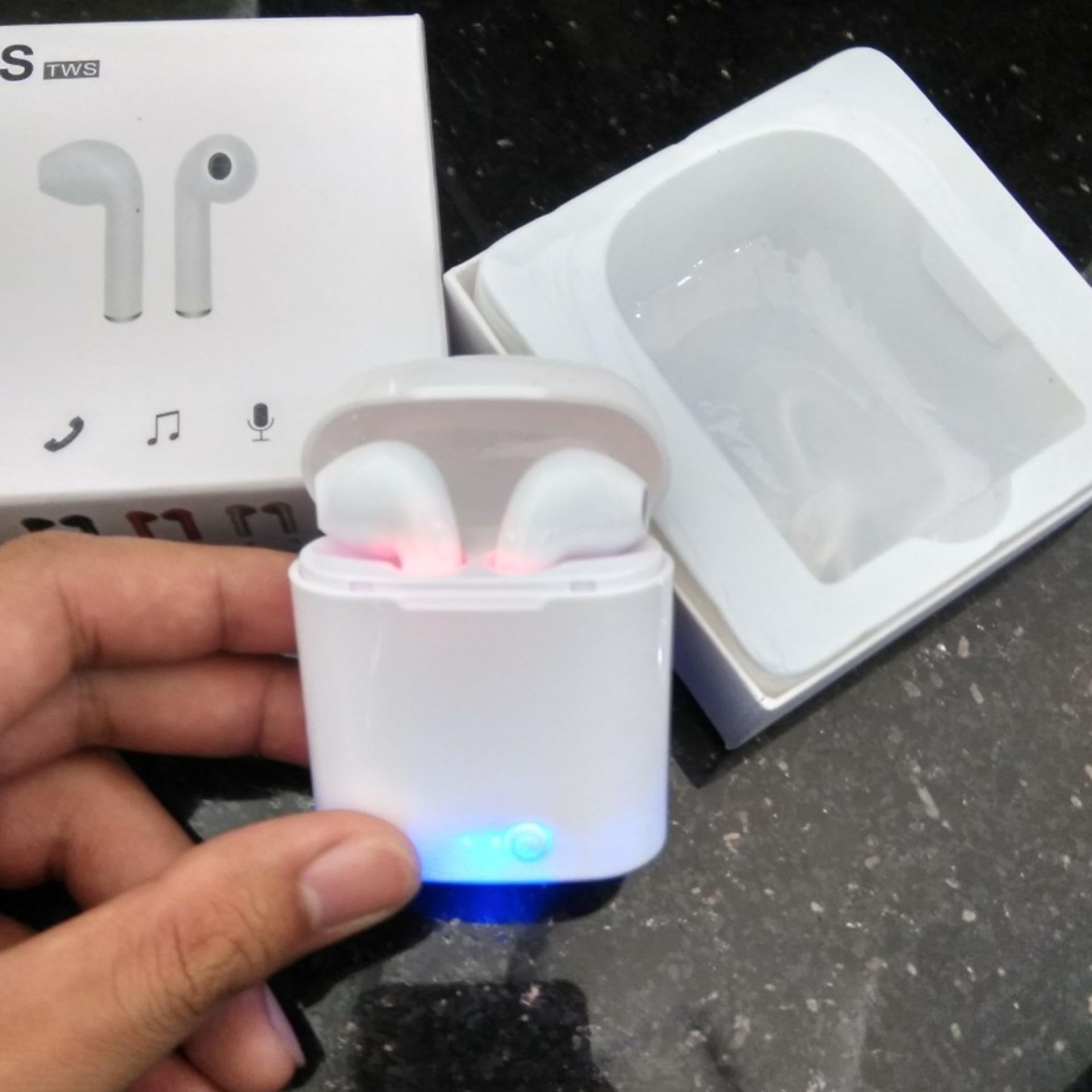 Tai Nghe I7S ( Hàng Loại Tốt) Ko Dây Kết Nối Bluetooth - Tai Nghe I7- Tai Nghe Không Dây Sử Dụng Mọi điện Thoại- Chức Năng Nghe Gọi Siêu Ưu Đãi tại Lazada