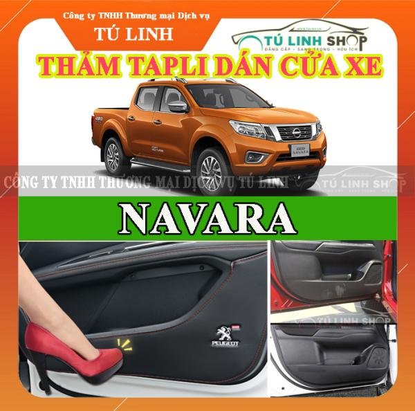 Bộ 4 Thảm Tapli dán cánh cửa chống trầy xước xe NAVARA
