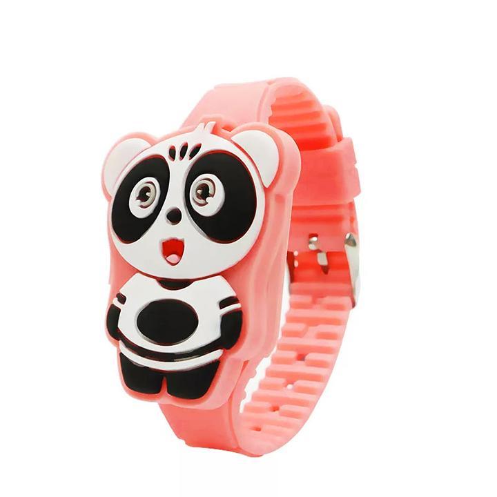 Giá bán Đồng hồ đèn LED cho bé gái hình chú gấu cute dây silicon xinh xắn BBShine – DH012