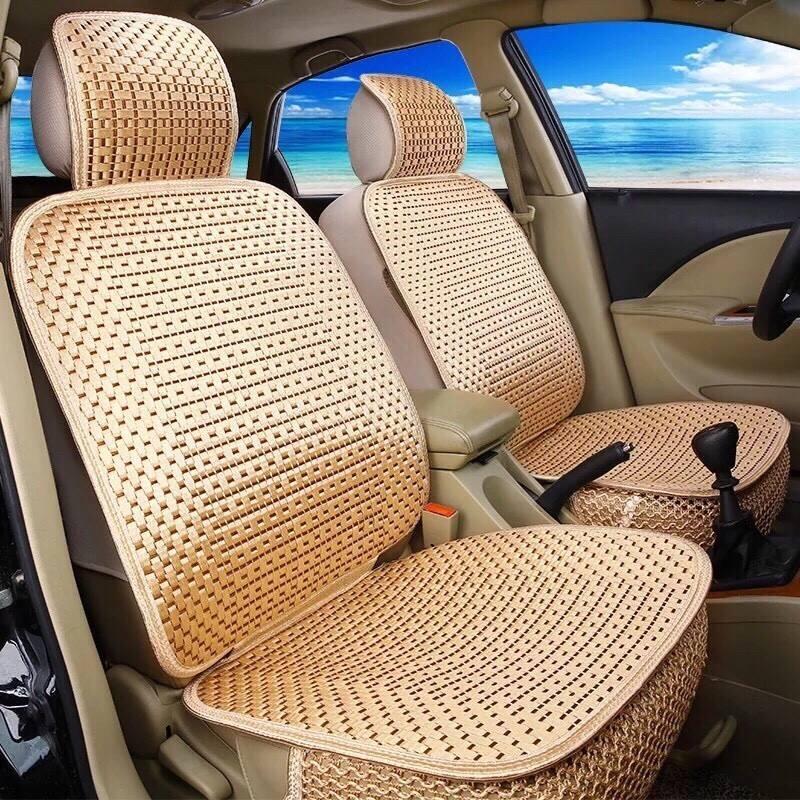 Đệm ghế ô tô,Bọc ghế oto,chất mát ,thông hơi , màu sắc rất đẹp và trang nhã(giao màu ngẫu nhiên)