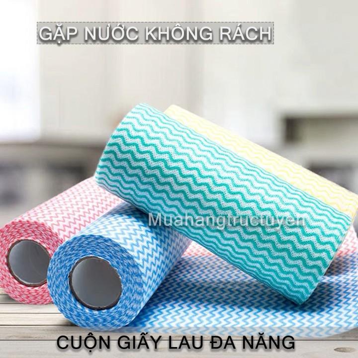 Combo 4 Cuộn Khăn Lau đa Năng, Khăn Lau đĩa,giấy Lau,không để Lại Tơ Vải Và Không Làm Trầy Xước đồ Vật. Bất Ngờ Ưu Đãi Giá