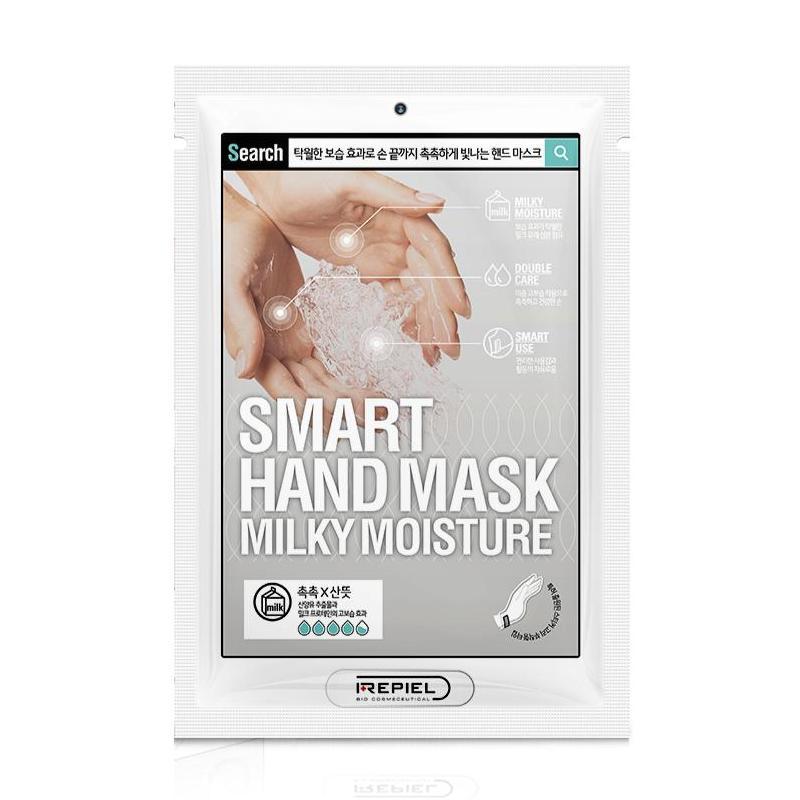 Mặt nạ tay Repiel Smart Hand Mask Milky Moisture