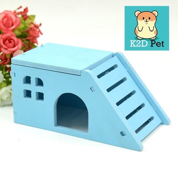Nhà ngủ cầu trượt cho Hamster