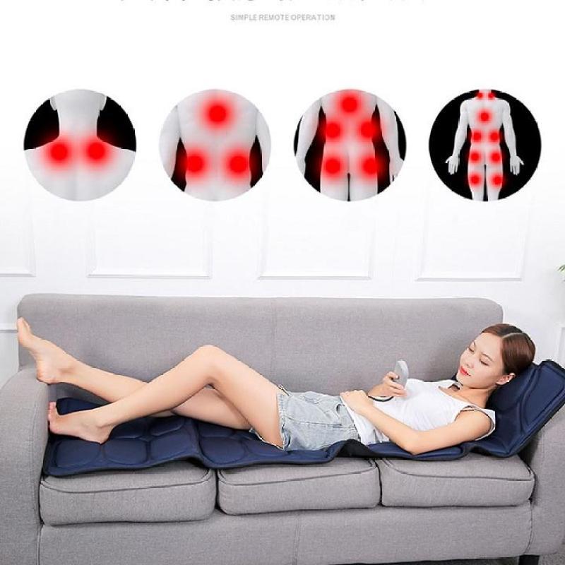 Nệm massage toàn thân có hồng ngoại lưu thông khí huyết , nệm massage toàn thân cho người gìa ,đệm massage , massage toàn thân , máy massage toàn thân giá rẻ