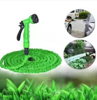 Vòi xịt nước co giãn 15m thông minh ( xanh lá)