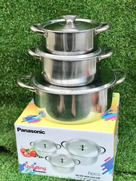 Bộ 3 nồi inox Panasonic